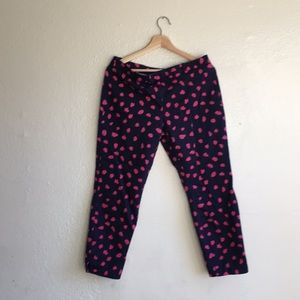 Pattern stretchy pants